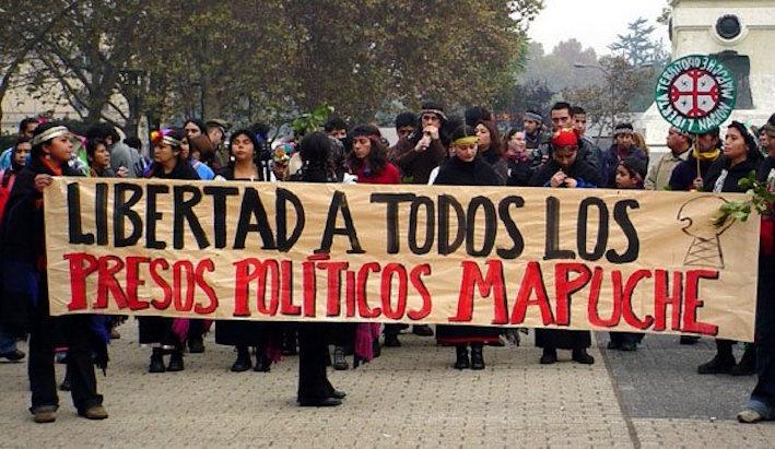 libertad a los presos mapuche