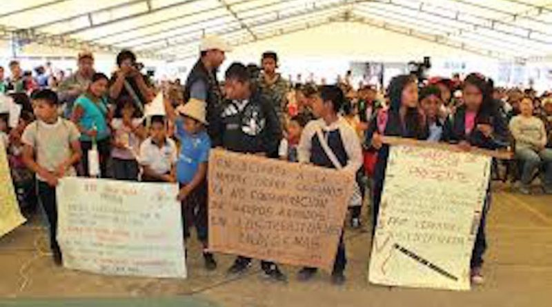 Territorio Nasa Sa´th Tama Kiwe frente al narcotráfico. Es el Estado: «Acá resistimos entre todxs!»