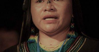 Mirian Cisneros: «un mensaje para todos los pueblos y nacionalidades del Ecuador»…y mucho más acá