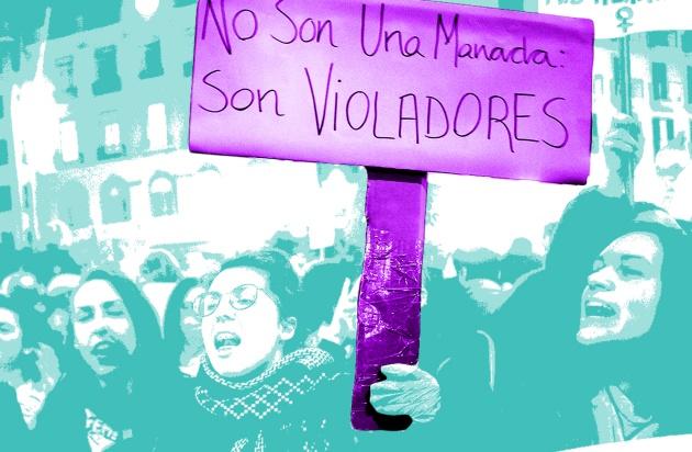 Violadores revolucionarios. Complicidades organizadas: La palabra valiente de una luchadora violada