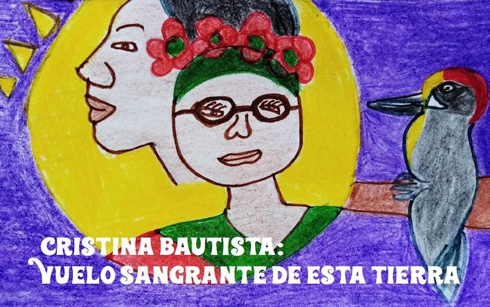 Cristina Bautista: vuelo sangrante de esta tierra