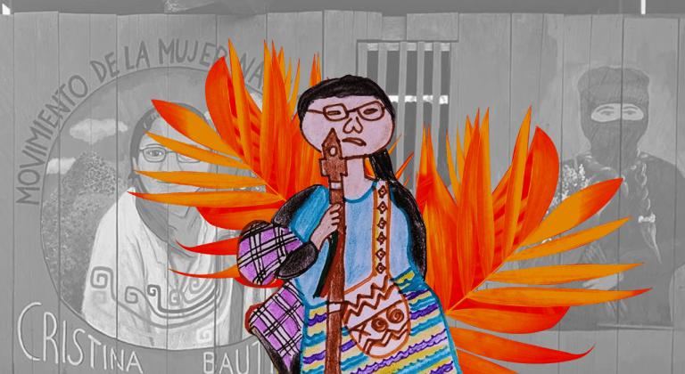 Em memória de Cristina Bautista, abraçaremos a terra para com ela nos libertarmos